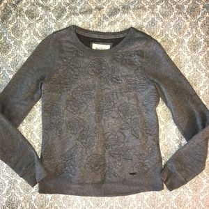 Abercrombie & Fitch Grey Rose Sparkle Sweater